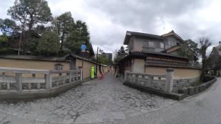 le japon en mars - kanazawa le quartier des samourais