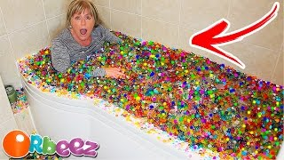 *ULTIMATE* ORBEEZ ICE BATH CHALLENGE! 😱 (500000+ ORBEEZ) w/My Mum