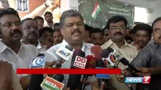 G K Vasan speak about TMC leaders rejoining Congress | News7 Tamil