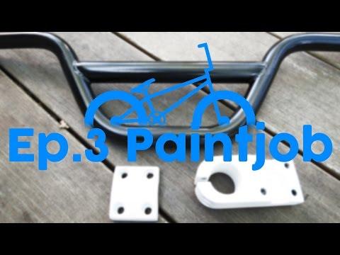 BMX Restoration Ep. 3: Paint Job