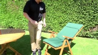 BillyOh Windsor 1m Round Folding 2 Seater Set