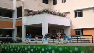 Onam dance at supraja school