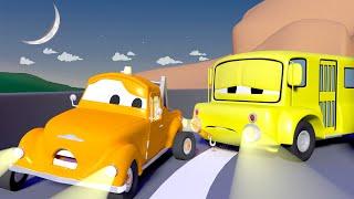 Die schläfrige Lily braucht Energie  - Tom der Abschleppwagen in Car City 🚗 Cartoons für Kinder