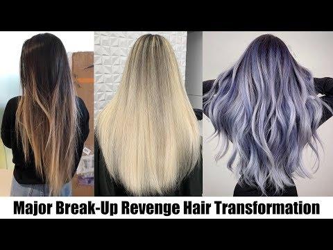 MAJOR BREAK UP REVENGE HAIR TRANSFORMATION