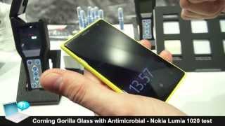 Corning Gorilla Glass with Antimicrobial - Nokia Lumia 1020 test (Gorilla Glass 3)