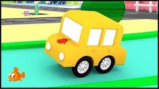 PAINTBALL RACE! - Cartoon Cars Cartoons for Kids
