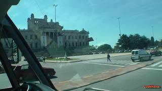 Uruguay - Montevideo,Bus tour - South America Part 28 - Travel Video HD