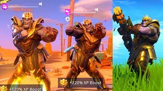 SO I PLAYED AS THANOS V2 in Fortnite Battle Royale & Here