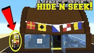 Minecraft: SPONGEBOB HIDE AND SEEK!! - Morph Hide And Seek - Modded Mini-Game
