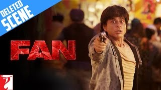 FAN | Deleted Scene 9 | A deadly chase | Shah Rukh Khan