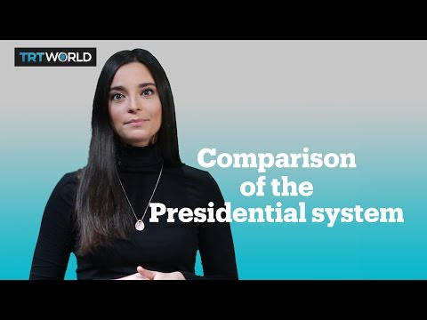 Is Turkey s proposed presidential system different than the US