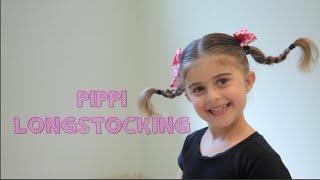 How to Do The Pippi Longstocking Hairdo!