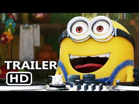 DESPICABLE ME 3 Official Trailer 2017 Minions Animation Movie HD