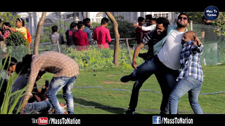 Prank | Delhi Girls and couples | Passing Funny Comments | #MassToNation