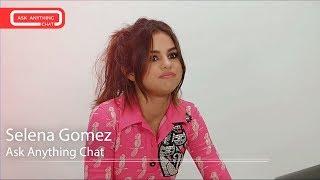 "Selena Gomez Talks About Her ""Littles"", Barney The Dinosaur, Hotel Transylvania. Full Chat Here."