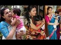 South Indian Actress with their Children   Tamil, Telugu, Malayalam, Kannada