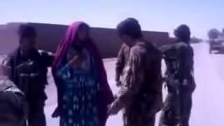 Afghan Army Soldiers Capture (Pakistani Army Soldier) Talib