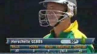 Herschelle Gibbs six 6's In One Over