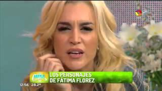 Fátima Florez y una divertida interpretación de todos sus personajes