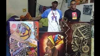 My Home Is An African Art Gallery