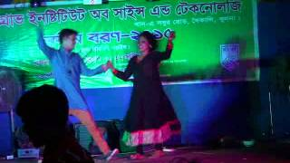 Funny Act at Freshers reception 2015 Mangrove Institute
