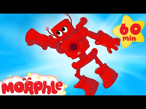 My Red Robot 1 hour My Magic Pet Morphle Mega cartoon compilation for kids