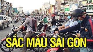 Màu sắc, âm thanh trên đường phố Sài Gòn. Saigon Traffic.
