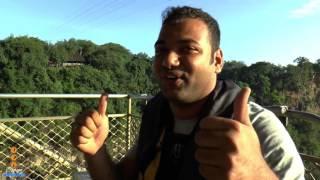 Abhijit Ashok Bungee Jumping- Victoria Falls