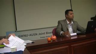 Youth and Bioethics - Mr Rimesh Khanal, Chair, Youth's UNESCO Club, Nepal; AUSN Board of Governors