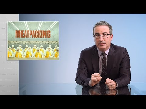 Meatpacking Last Week Tonight with John Oliver HBO