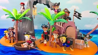 Learn Colors with Paw Patrol Pirate Treasure Island Playmobile   Fizzy Fun Toys