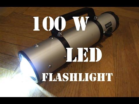 Xxx Mp4 DIY 100W LED Flashlight 3gp Sex