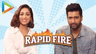 "Vicky Kaushal: ""Ranbir Kapoor – I Love You"" | RAPID FIRE | Yami Gautam | URI"
