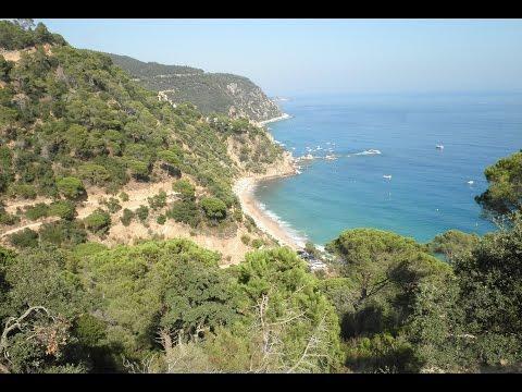 Cala del sr. Ramon (Playa de la Curcullada). Playas Nudistas - Costa Brava - Nude Beachs