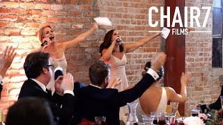 They're back!! Greatest wedding toast of all time!!