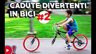 CADUTE DIVERTENTI IN BICI #2  |  Videopazzeschi TV