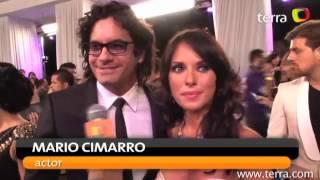 Mario Cimarro y Vanessa Villela Premios Tu Mundo