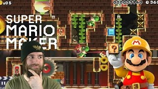 Locked in the Dragon's Dungeon | IT'S PUZZLE TIME! [Super Mario Maker]