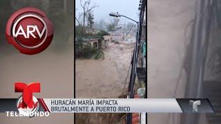 El huracán María devastó Puerto Rico   Al Rojo Vivo   Telemundo