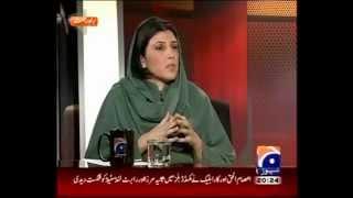 Capital talk Aisha Gulalai first program with Hamid Mir