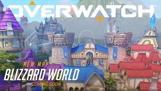[NOW AVAILABLE] Blizzard World | New Hybrid Map | Overwatch