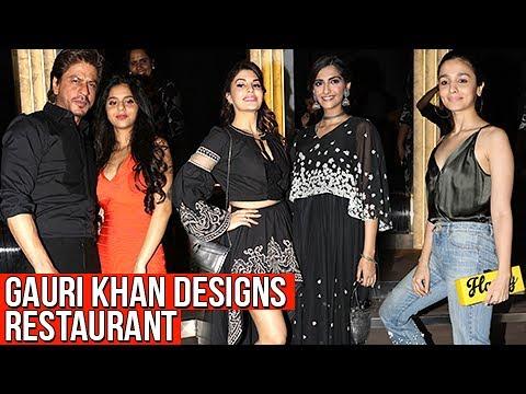 Gauri Khan's New Designs : Shahrukh Khan, Alia Bhatt, Sushant Singh Rajput And Celebs | FULL PARTY