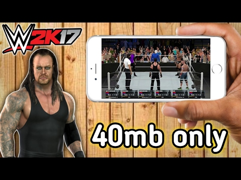 [40mb] How to download Game like WWE 2k17 🔴For Android | Free