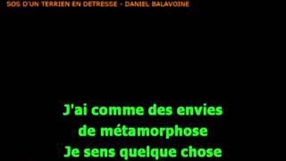 karaoké Balavoine SOS d'un terrien en detresse