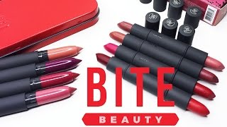 [SWATCH + REVIEW] BITE BEAUTY DUO & BEST BITE REWIND SET (WITH CC ENGSUB)