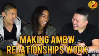 Making Asian Male Black Female Relationships Work by AMBW/BWAM Couple: Blasian Quest Interview