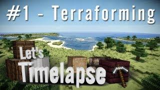 [FR] Let's Timelapse - St William - ep.1 - Terraforming