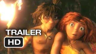 The Croods TRAILER 2 (2013) - Emma Stone, Ryan Reynolds Movie HD