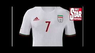 Iran delay Adidas 2018 World Cup kit reveal