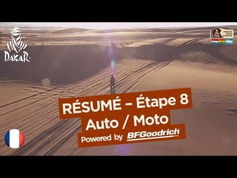 Résumé de l Étape 8 Auto Moto Uyuni Salta Dakar 2017